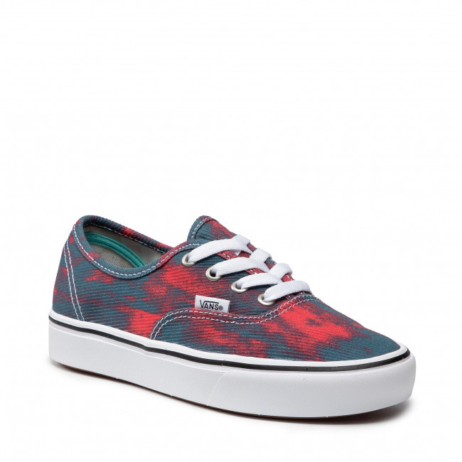Teniși VANS - Comfycush Authent VN0A3WM747C1 (In Bloom)Blue/Red