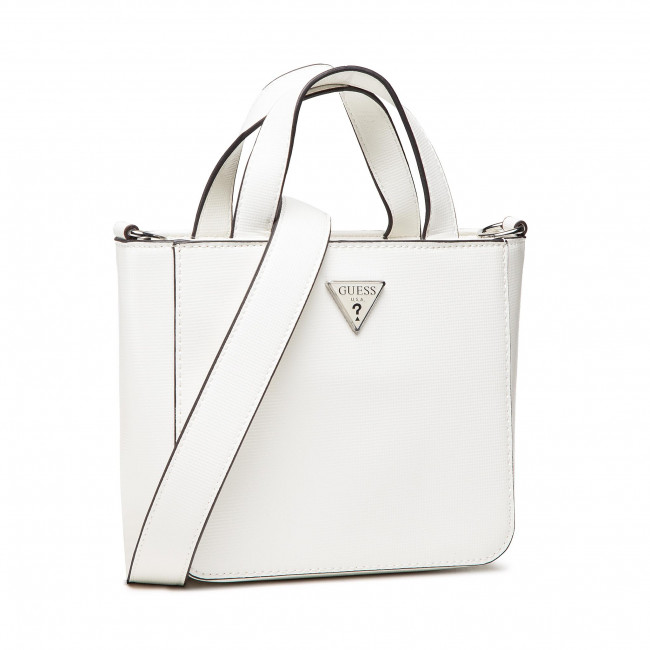Geantă GUESS - Layla (Vy) Mini HWVY79 89750 WHI