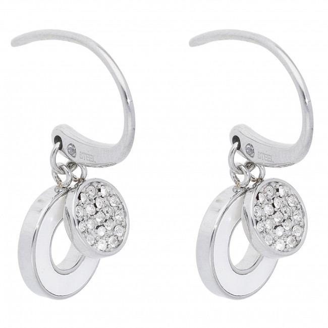 Cercei FOSSIL - Summer Circles JF03140040 Silver