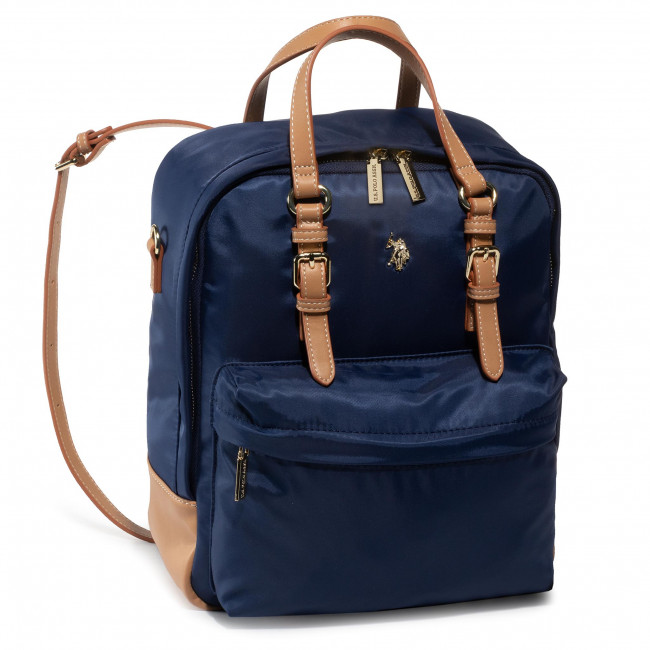 Rucsac U.S. POLO ASSN. - Houston V Backpack Bag BEUHU0621WIP/292 Navy/Beige