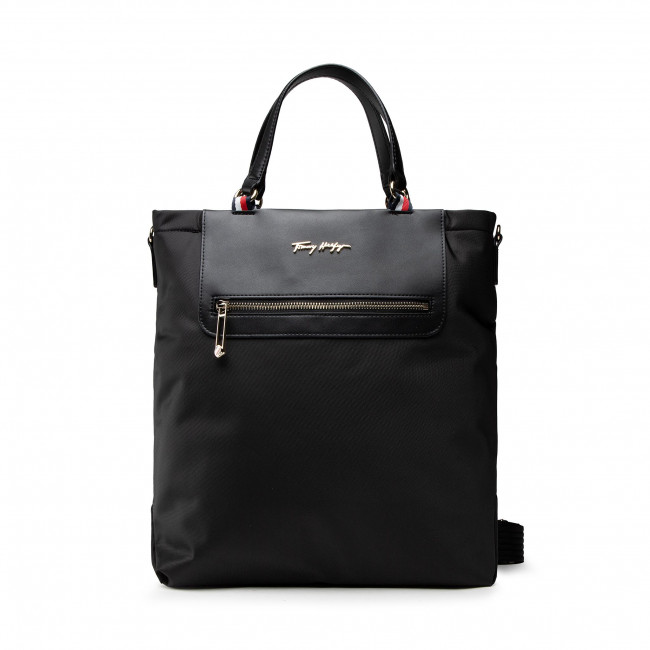 Geantă TOMMY HILFIGER - Tommy Fresh Tote AW0AW10109 BDS