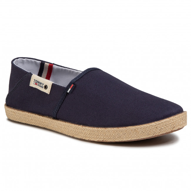 Espadrile TOMMY JEANS - Summer Shoe EM0EM00423 Twilight Navy C87