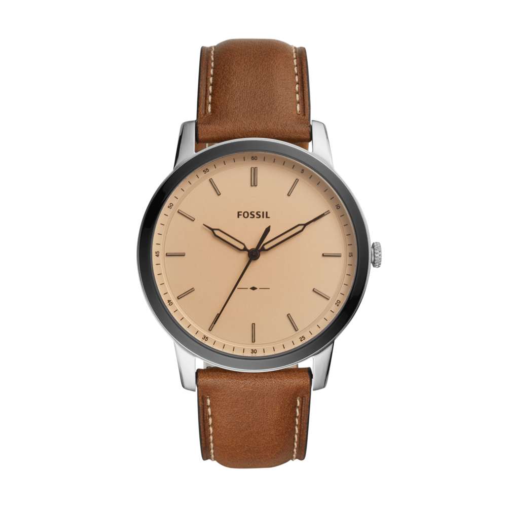 Ceas FOSSIL - The Minimalist FS5619 Brown/Silver