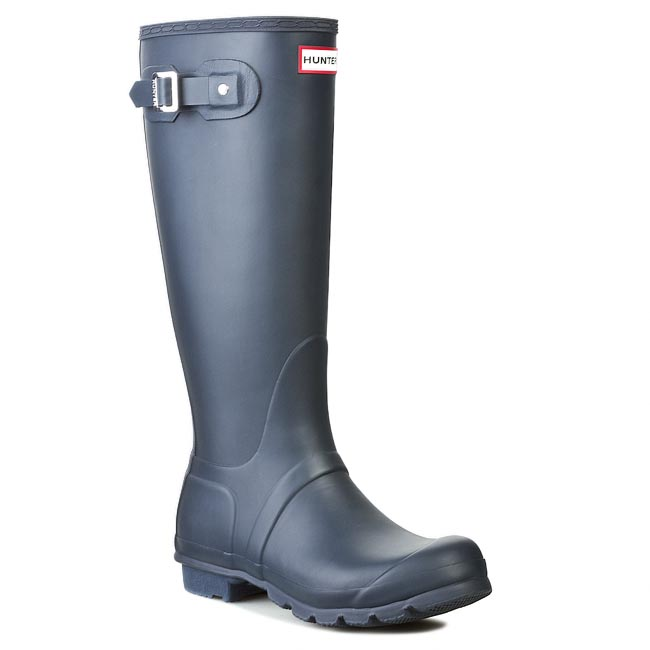 Cizme de cauciuc HUNTER - Original Tall WFT1000RMA Navy