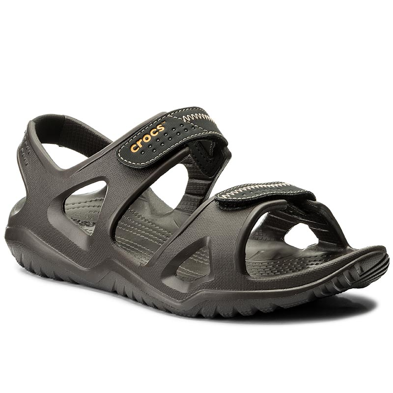 Sandale CROCS - Swiftwater River Sandal M 203965 Espresso/Black