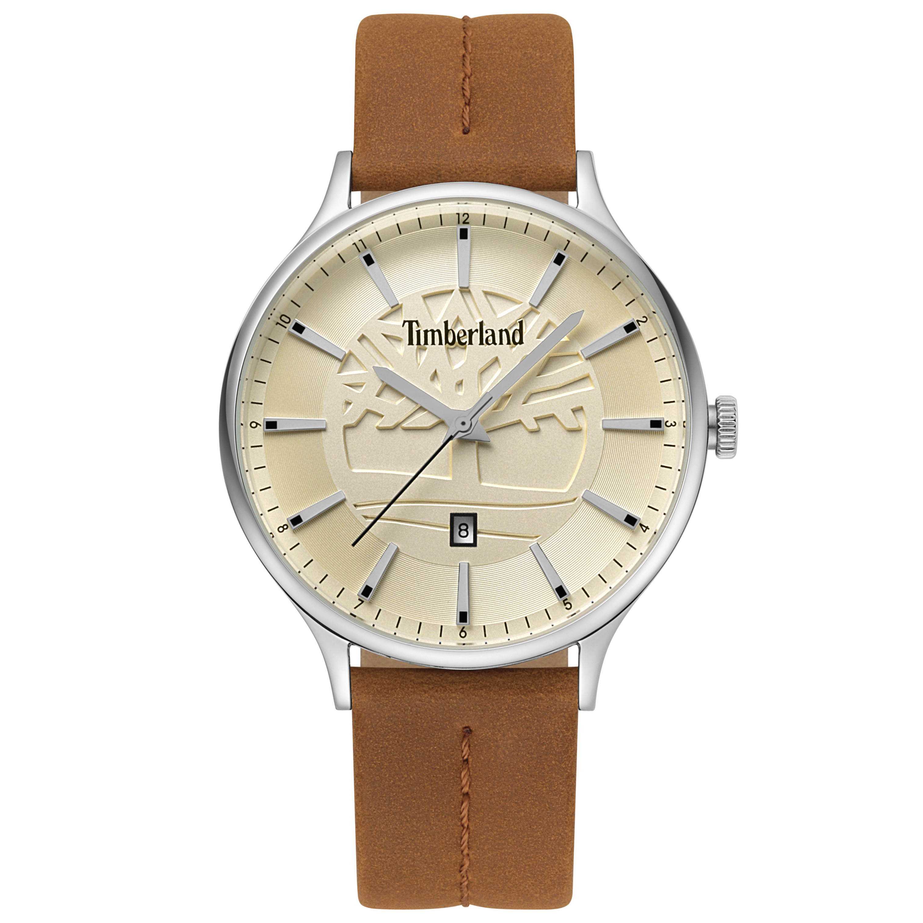 Ceas TIMBERLAND - Marblehead 15488JS/07 Brown/Silver