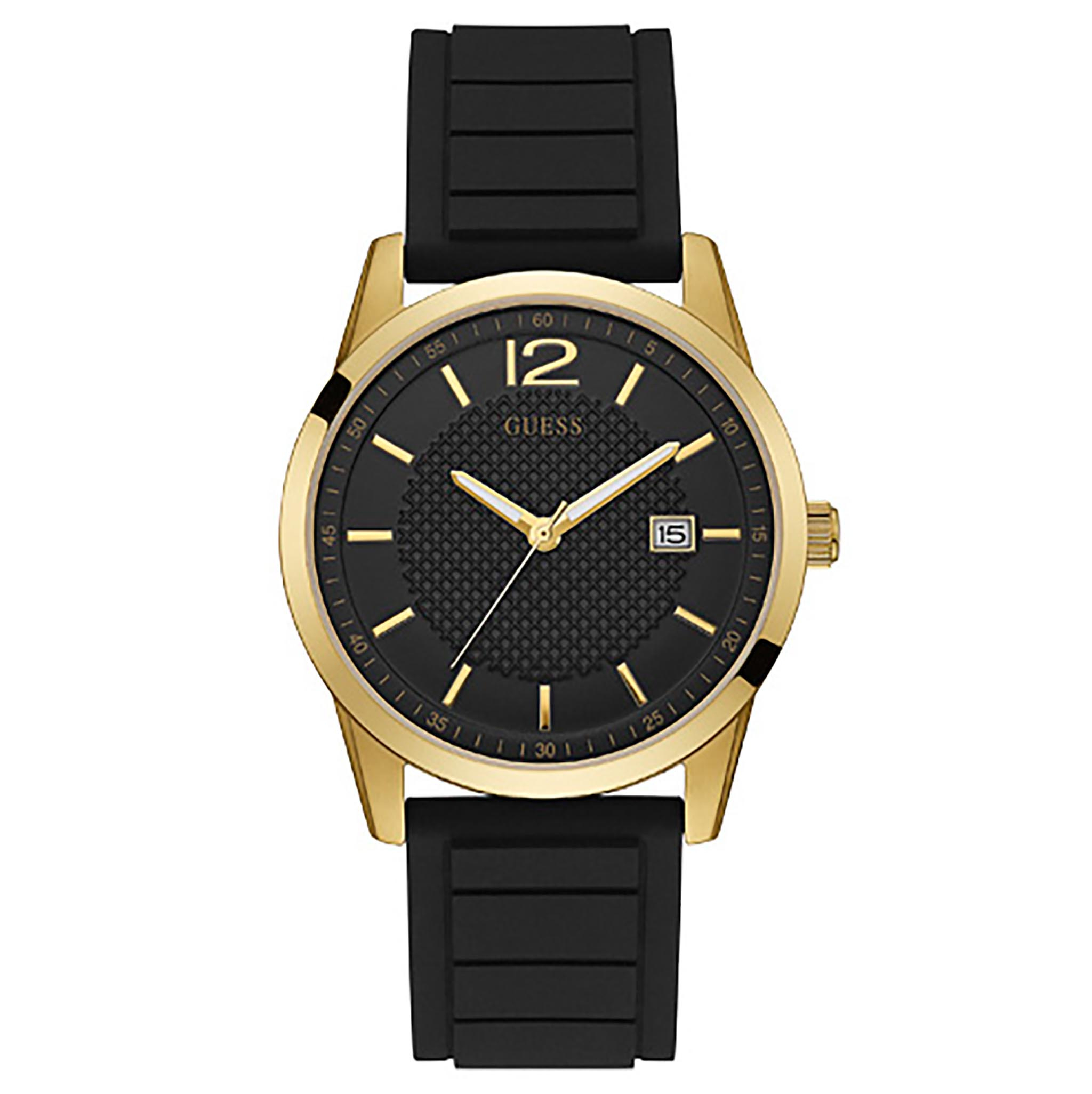Ceas GUESS - Perry W0991G2 BLACK/GOLD TONE