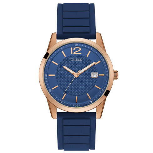 Ceas GUESS - Perry W0991G4 BLUE/ROSE GOLD TONE