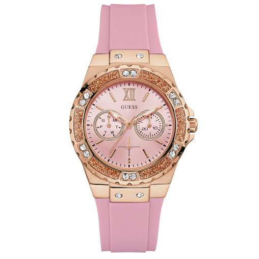 Ceas GUESS - Limelight W1053L3 PINK/ROSE GOLD TONE
