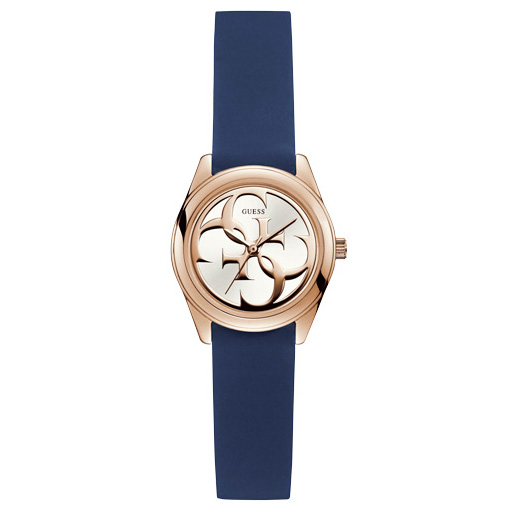 Ceas GUESS - Micro G Twist W1146L2 BLUE/ROSE GOLD TONE